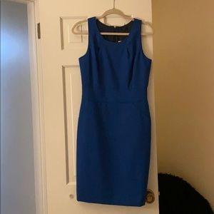 Blue Jcrew dress